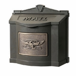 Gaines Manufacturing Wallmount Mailbox