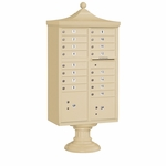16 Door Regency Cluster Box Unit - Sandstone