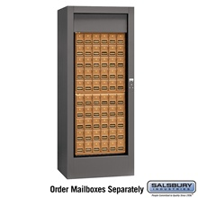 Rotary Mail Center - Brass / Americana Style - USPS Access