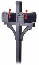 Salsbury Rural Double Mailbox Package
