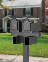 Whitehall Products: Double Mailbox Package