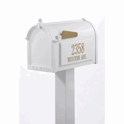 Whitehall Products: Premium Mailbox Package