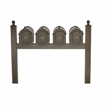 Whitehall Products: Quad Mailbox Package