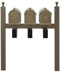 Whitehall Products: Triple Mailbox Package