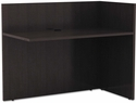 Alera® Valencia Series Reversible Reception Return - 44''W x 23.75''D x 41.5''H - Espresso [ALEVA324424ES-FS-NAT]