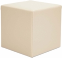 Alera® WE Series Collaboration Seating Cube Bench - 18''W x 18''D x 18''H - Almond [ALEWE35AL-FS-NAT]