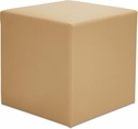 Alera® WE Series Collaboration Seating Cube Bench - 18''W x 18''D x 18''H - Beige [ALEWE35BG-FS-NAT]