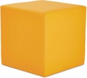 Alera® WE Series Collaboration Seating Cube Bench - 18''W x 18''D x 18''H - Saffron [ALEWE35SF-FS-NAT]
