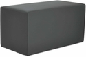 Alera® WE Series Collaboration Seating Rectangle Bench,36''W x 18''D x 18''H - Slate [ALEWE37ST-FS-NAT]