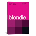 Blondie at CBGB & OMFUG: July 17th,1975 by Swissted Gallery Wrapped Canvas Artwork with Floating Frame - 27''W x 41''H x 1.5''D [SWI3-1PC6-40X26-FF01-ICAN]