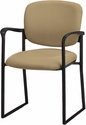 Brylee™ Guest Chair with Sled Base - Black Frame [BR31S-E3-FS-UC]