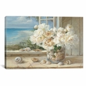 By the Sea by Danhui Nai Gallery Wrapped Canvas Artwork - 26''W x 18''H x 0.75''D [WAC203-1PC3-26X18-ICAN]