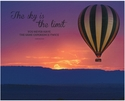 Advantus 22''W x 28''H Vintage Canvas Motivational Art Print - Sky is the Limit with Hot Air Balloon [78095-FS-VF]