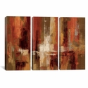 Castanets by Silvia Vassileva Triptych Gallery Wrapped Canvas Artwork - 60''W x 40''H x 0.75''D [WAC1262-3PC3-60X40-ICAN]