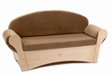Child's Easy Sofa with Cushions made from Durable and Comfortable Fabric [WB0850-FS-WBR]