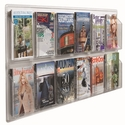 Clear-Vu Horizontal Magazine and Literature Display - 12 Magazines [LRC117-AA]