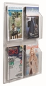 Clear-Vu Magazine and Literature Display - 4 Magazines [LRC104-AA]