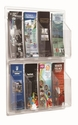 Clear-Vu Pamphlet Display - 8 Pamphlets [LRC108-AA]