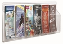 Clear-Vu Pamphlet Display - 6 Pamphlets [LRC113-AA]