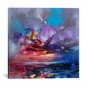 Colour Collision I by Scott Naismith Gallery Wrapped Canvas Artwork - 18''W x 18''H x 0.75''D [SNH84-1PC3-18X18-ICAN]
