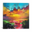 Consonance And Disonance by Scott Naismith Gallery Wrapped Canvas Artwork - 18''W x 18''H x 0.75''D [SNH57-1PC3-18X18-ICAN]