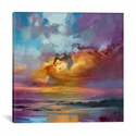 Consonant Sky by Scott Naismith Gallery Wrapped Canvas Artwork - 18''W x 18''H x 0.75''D [SNH3-1PC3-18X18-ICAN]