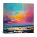 Diminuendo Sky Study II by Scott Naismith Gallery Wrapped Canvas Artwork - 26''W x 26''H x 0.75''D [SNH19-1PC3-26X26-ICAN]
