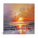 Diminuendo Sky Study III by Scott Naismith Gallery Wrapped Canvas Artwork - 18''W x 18''H x 0.75''D [SNH20-1PC3-18X18-ICAN]