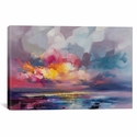 Displacement by Scott Naismith Gallery Wrapped Canvas Artwork with Floating Frame - 27''W x 19''H x 1.5''D [SNH74-1PC6-26X18-FF01-ICAN]