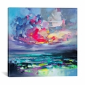 Elements I by Scott Naismith Gallery Wrapped Canvas Artwork - 18''W x 18''H x 0.75''D [SNH86-1PC3-18X18-ICAN]