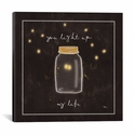 Firefly Glow I by All That Glitters Gallery Wrapped Canvas Artwork - 26''W x 26''H x 0.75''D [WAC3229-1PC3-26X26-ICAN]