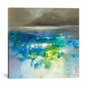 Fluid Dynamics I by Scott Naismith Gallery Wrapped Canvas Artwork - 18''W x 18''H x 0.75''D [SNH89-1PC3-18X18-ICAN]