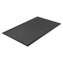 Genuine Joe Indoor Mat - Moisture Absorbent - Vinyl Back - 3' x 5' - Charcoal [GJO56352-SP]