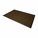 Genuine Joe Indoor -Outdoor Mat - Waterguard - 4' x 6' - Brown [GJO58843-SP]