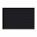 Genuine Joe Wiper -Scraper Mat - 3'' x 5'' - Charcoal Black [GJO02402-FS-SP]