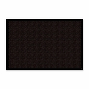 Genuine Joe Wiper -Scraper Mat - 4'' x 6'' - Chocolate [GJO02405-FS-SP]