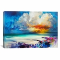 Golden by Scott Naismith Gallery Wrapped Canvas Artwork with Floating Frame - 41''W x 27''H x 1.5''D [SNH92-1PC6-40X26-FF01-ICAN]