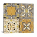 Gray Glow Square 4 Up by Pela Studio Gallery Wrapped Canvas Artwork - 37''W x 37''H x 0.75''D [WAC2091-1PC3-37X37-ICAN]
