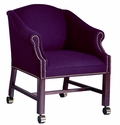 Hamilton Series Conference Chair without Tufts with Casters [1106NT-FS-UNE]