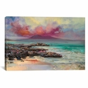 Harris Rocks by Scott Naismith Gallery Wrapped Canvas Artwork - 26''W x 18''H x 0.75''D [SNH1-1PC3-26X18-ICAN]