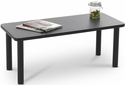 Lakeport 41'' W x 18'' D x 16'' H Coffee Table - Black [E-18500-TB1-FS-EOF]