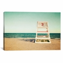 Lifeguard Station no3 by Katherine Gendreau Gallery Wrapped Canvas Artwork with Floating Frame - 27''W x 19''H x 1.5''D [WAC2455-1PC6-26X18-FF01-ICAN]