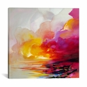Magenta Shade by Scott Naismith Gallery Wrapped Canvas Artwork - 37''W x 37''H x 0.75''D [SNH94-1PC3-37X37-ICAN]