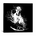 Marilyn by Seb Whatshisname Gallery Wrapped Canvas Artwork - 37''W x 37''H x 0.75''D [SEB9-1PC3-37X37-ICAN]
