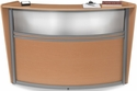Marque Plexi Single Reception Station - Maple [55310-MPL-MFO]
