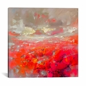 Molecular Bonds by Scott Naismith Gallery Wrapped Canvas Artwork - 26''W x 26''H x 0.75''D [SNH95-1PC3-26X26-ICAN]