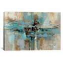Morning Fjord by Silvia Vassileva Oversized Gallery Wrapped Canvas Artwork - 60''W x 40''H x 1.5''D [WAC1383-1PC6-60X40-ICAN]