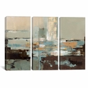 Morning Haze by Silvia Vassileva Triptych Gallery Wrapped Canvas Artwork - 60''W x 40''H x 0.75''D [WAC1286-3PC3-60X40-ICAN]