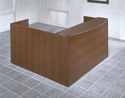 OSP Furniture Napa Scratch Resistant Reception Station [NAPTYP19-FS-OS]