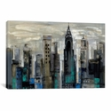 New York Moment by Silvia Vassileva Gallery Wrapped Canvas Artwork - 40''W x 26''H x 0.75''D [WAC1319-1PC3-40X26-ICAN]